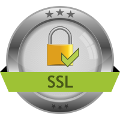Your connection is protected by SSL encryption!